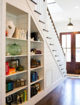 U201cWe Can Cut Shelves To Fit Perfectly Under Your Stairs, Creating A Custom  Built In Unit That Will Add Both Functionality And Beauty To Your Home,u201d  Thomas ...
