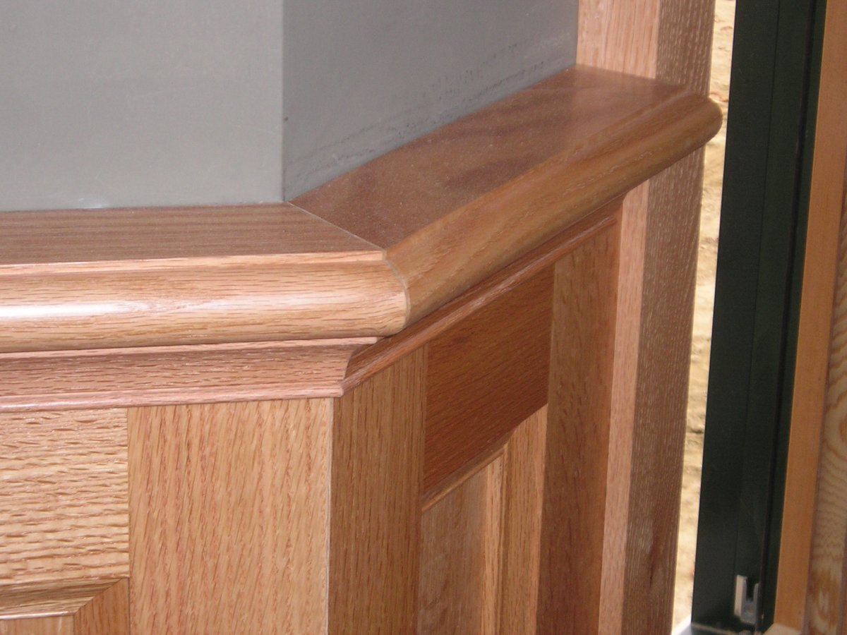 custom trim and millwork in NH, ME
