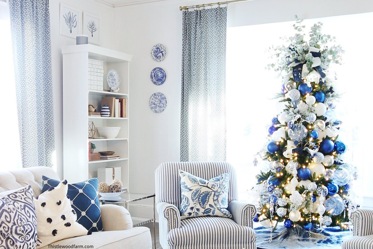 holiday decorating tips: don't be afraid to play with color
