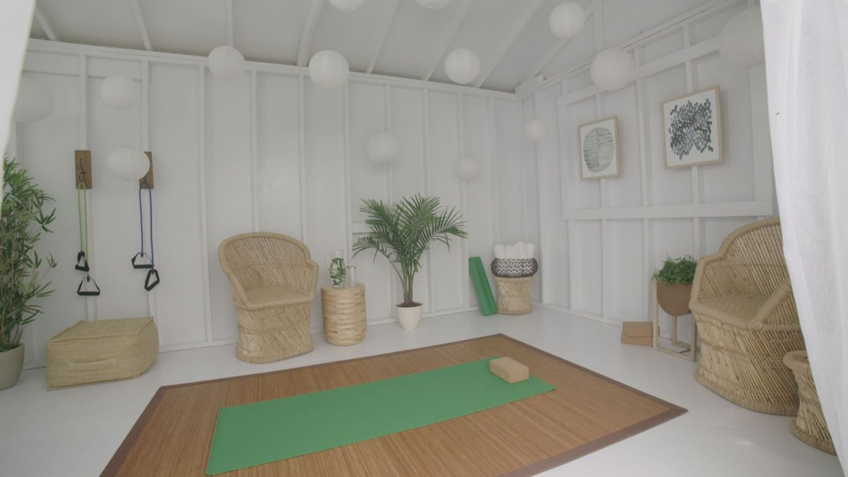 yoga room, she shed, additions