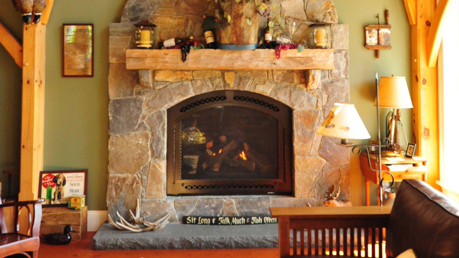 Cormack Interior Fireplace